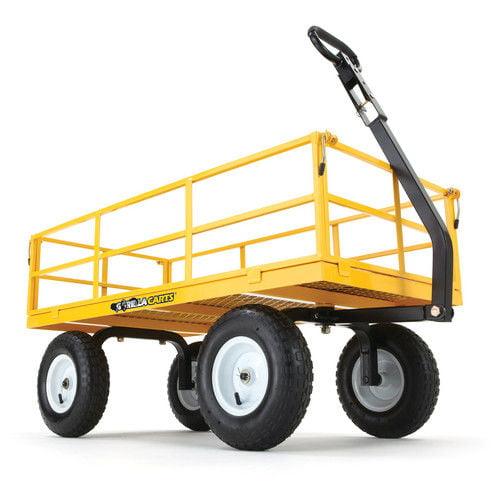 Upc 722571010904 Gorilla Carts Heavy Duty Steel Utility