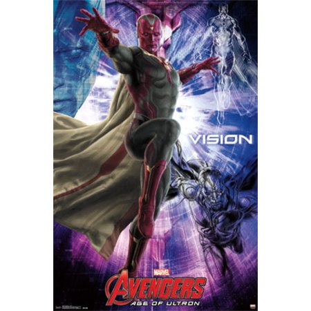 Marvel Avengers 2 Age of Ultron - Vision Poster Poster Print