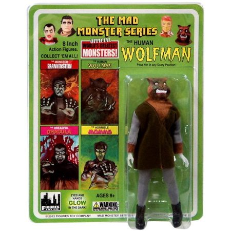 8 Inch Ho Fan - Mad Monsters The Human Wolfman 8 inch action figure (2012)