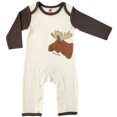 Touched by Nature Newborn Baby Boys' Organic Romper (Hudson Romper)