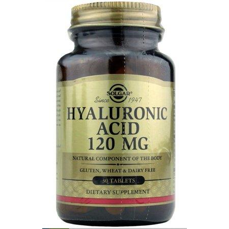 Hyaluronic Acid 120Mg Solgar 30 Tabs