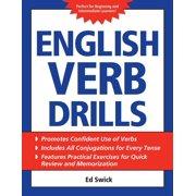 English Verb Drills (Paperback)