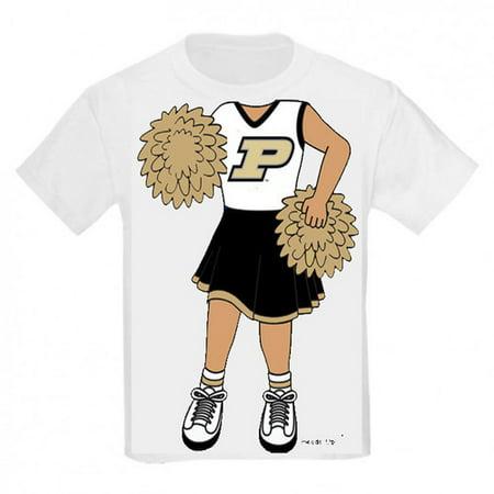 Purdue Boilermaker Heads Up! Cheerleader Infant/Toddler - Cheerleader Baseball