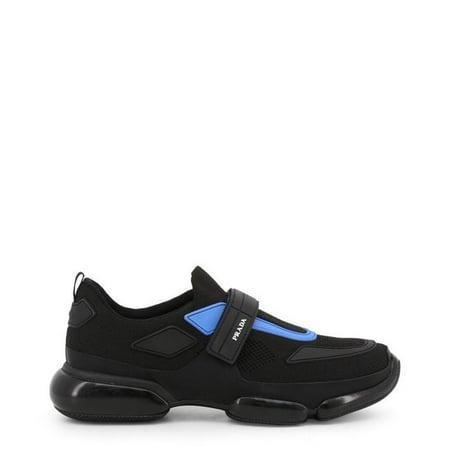 Prada 2OG064-F0D8J-Black-40 Mens Sneakers, Black - Size 40