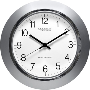 Click here to buy 14 ATOMIC ANALOG WALL CLOCK by LACROSSE.