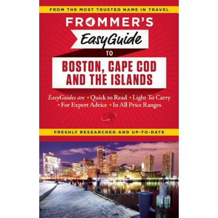 Frommer's Easyguide to Boston, Cape Cod and the (Cape Cod Boston Ma)