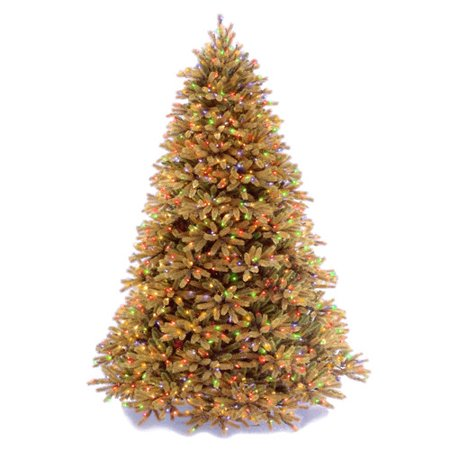 National Tree Co. Jersey Fraser Fir 7.5' Artificial Christmas Tree ...
