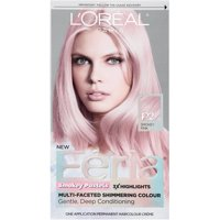 2 Pack L Oreal Paris Feria Smokey Pastels Permanent Haircolor Pink 1
