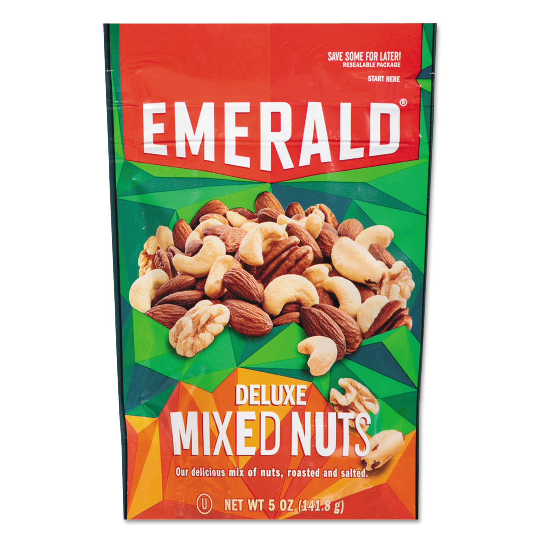Emerald Deluxe Mixed Nuts, 5 oz, (Pack of 6)