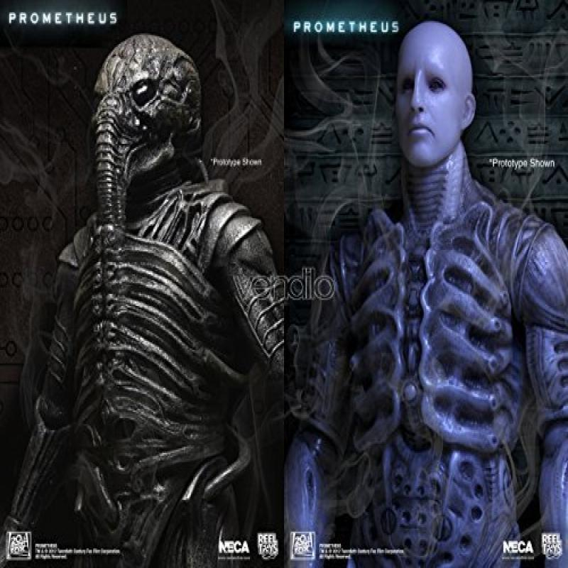 Neca Prometheus - Series 1 Scale Figures - Set of 2