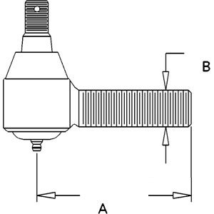 AR63590 John Deere Short Tie Rod 4040 4230 4240 4250 4430 4440 4555 on john deere 317 wiring diagram, john deere 6420 wiring diagram, john deere 4430 wiring diagram, john deere 6320 wiring diagram, john deere 4300 wiring diagram, john deere 4100 wiring diagram, john deere 5525 wiring diagram, john deere 2130 wiring diagram, john deere 3020 wiring diagram, john deere 6400 wiring diagram,