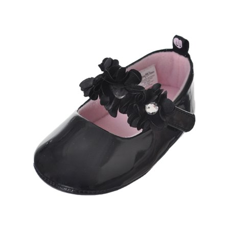 Baby Girls Flower Cluster Booties (Baby Bootie Charm)