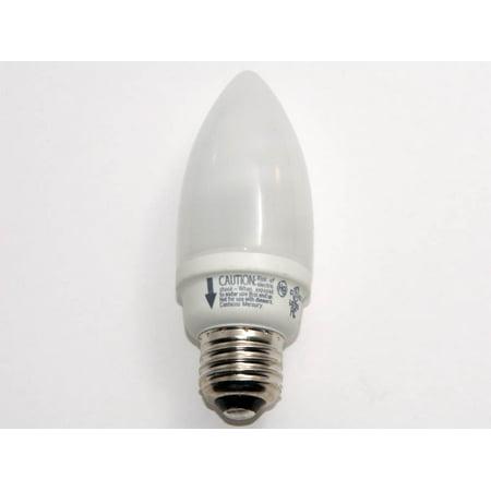 TCP SPRINGLAMP ENCAPSULATED COMPACT FLUORESCENT TORPEDO LAMP, 9 WATT, SOFT WHITE 2700K COLOR TEMPERA