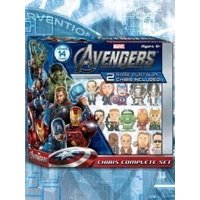 Marvel AVENGERS CHIBIS *Complete Set* 12 Chibis with 2 Rare PLATINUM Chibis Included