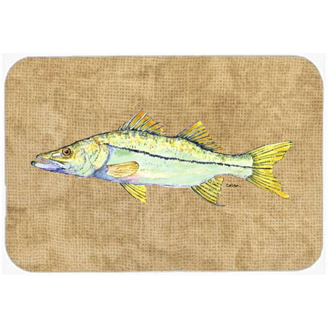Carolines Treasures 8819LCB 15 X 12 In. Snook Glass Cutting Board Large Size - image 1 of 1