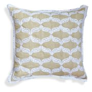 A1 Home Collections Gloria Beige Ogee Throw Pillow