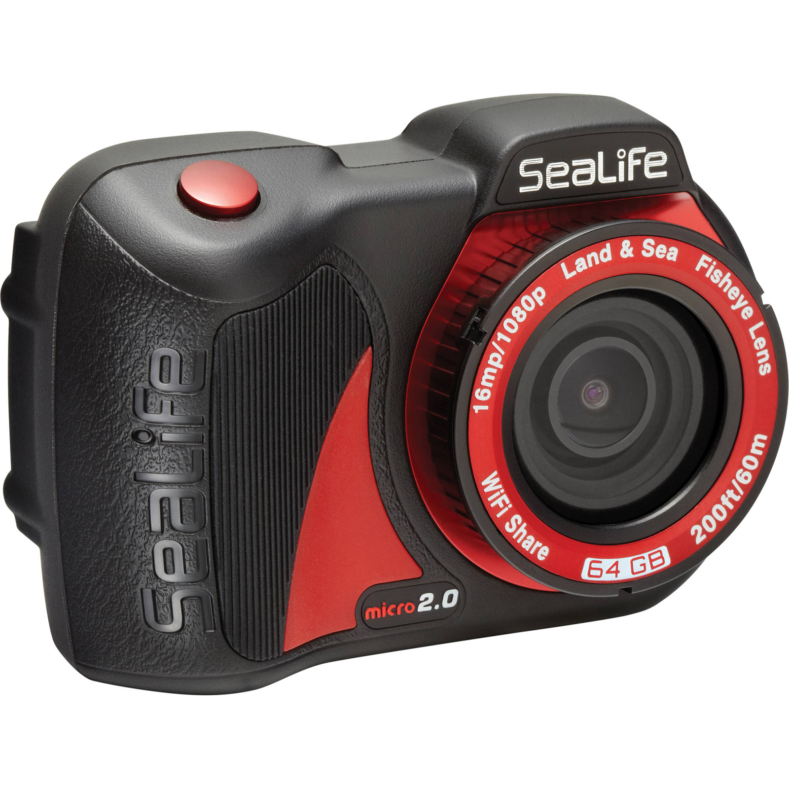 SeaLife Micro 2.0 64GB Wi-Fi Underwater Digital Camera Waterproof up to 200 ft. (60m)