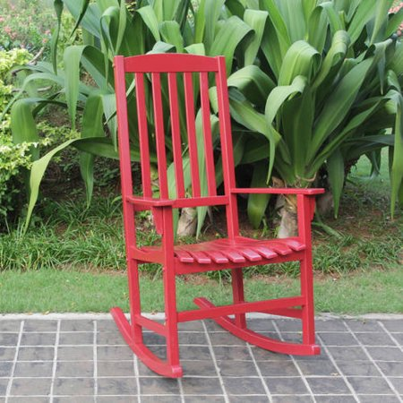 Mainstays Outdoor Rocking Chair, Multiple Colors - Walmart.com