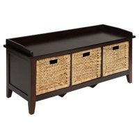 ACME Flavius Storage Bench, Espresso