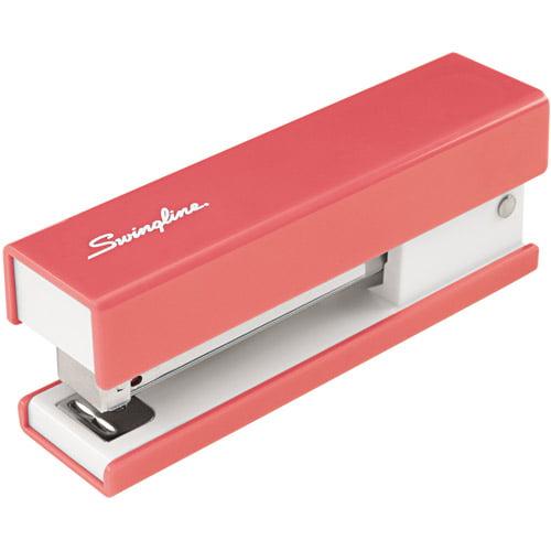 Swingline Half Strip Fashion Stapler, Pink