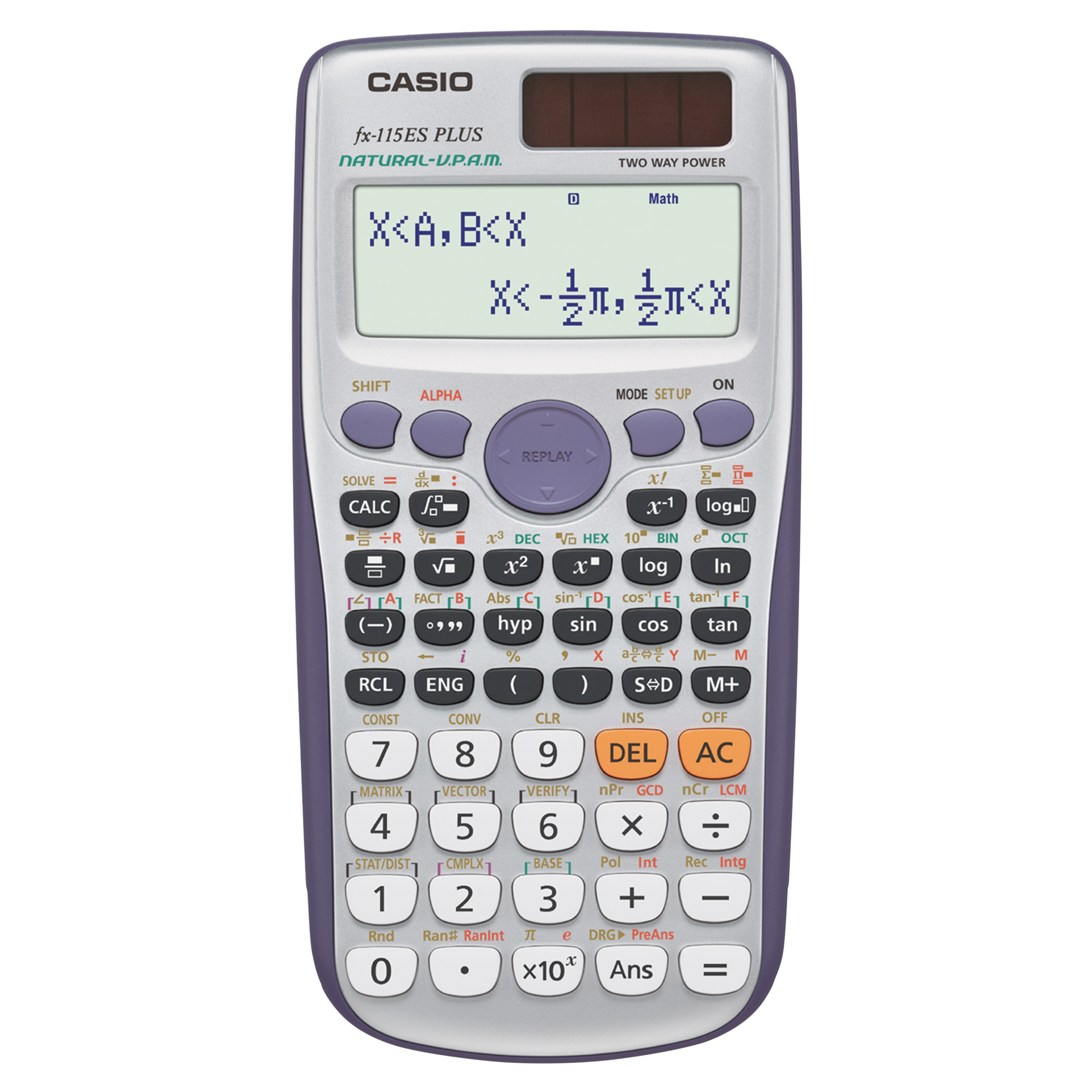 Casio FX-115ESPLUS Scientific Calculator by Casio, Inc.