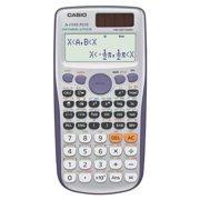 Casio FX115ESPlus Scientific Calculator, Natural Textbook Display