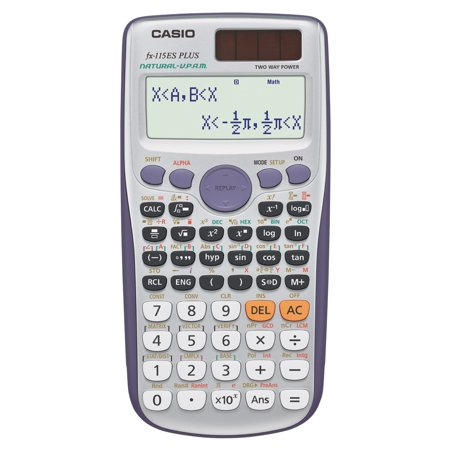 Casio FX-115ES Plus Scientific Calculator, Natural Textbook