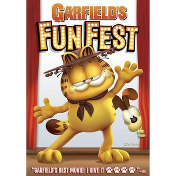 Garfield S Fun Fest Dvd Walmart Com Walmart Com