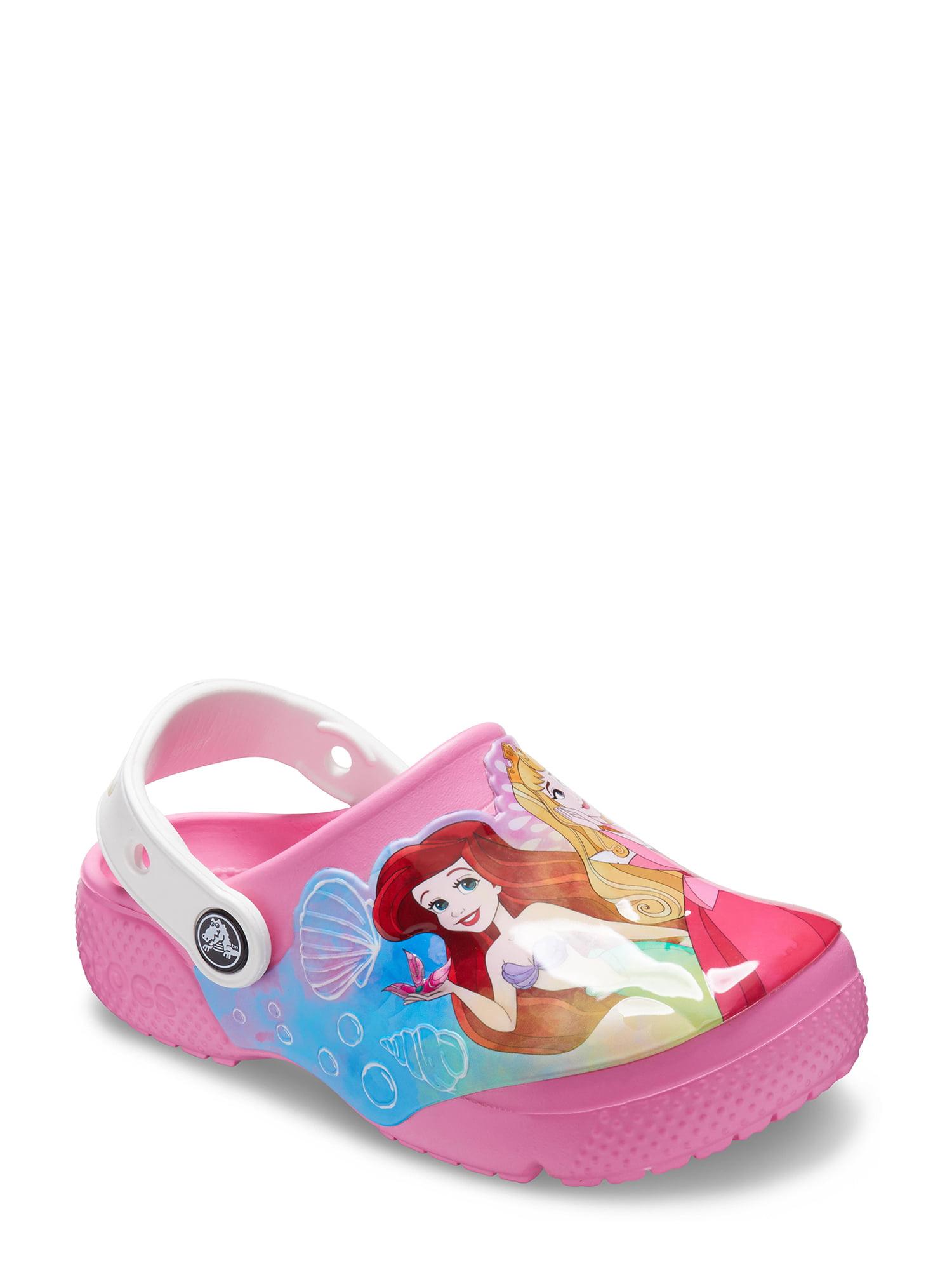 Slip-on Princess Shoes for Toddler Girls CROC Kids Disney Clog