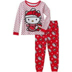 Hello Kitty Baby Toddler Girl Christmas Cotton 2pc Set