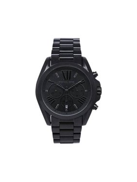 2af203520f31 Product Image Michael Kors Unisex Bradshaw Chronograph Blacktone Stainless  Steel Watch MK5550