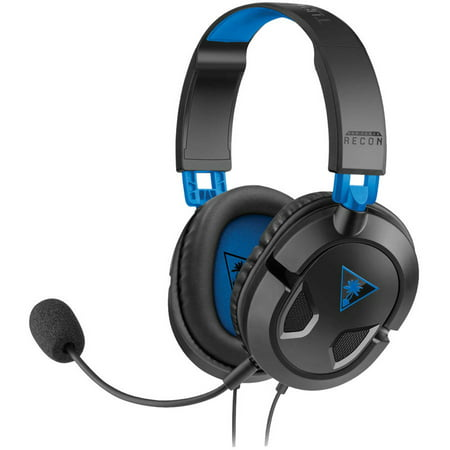 turtle beach recon 50p gaming headset black ps4 xbox. Black Bedroom Furniture Sets. Home Design Ideas