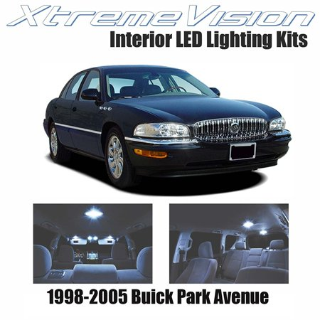 (XtremeVision LED for Buick Park Avenue 1998-2005 (20 Pieces) Cool White Premium Interior LED Kit Package + Installation Tool)