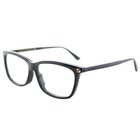 Gucci GG0042OA 001 Women's Cat-Eye Eyeglasses (Gucci Brille Frames Für Frauen)