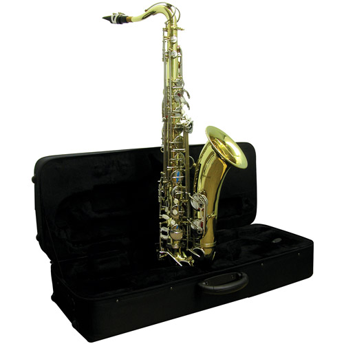 Mirage MGTS Tenor Saxophone with Case, Brass by Generic