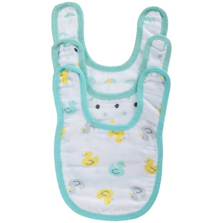 ideal baby by the makers of aden + anais 3pk Snap Bibs, (Baby Splash)