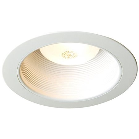Juno Lighting V3024W-WH 6 Inch Conical Baffle Trim Round White VuLite