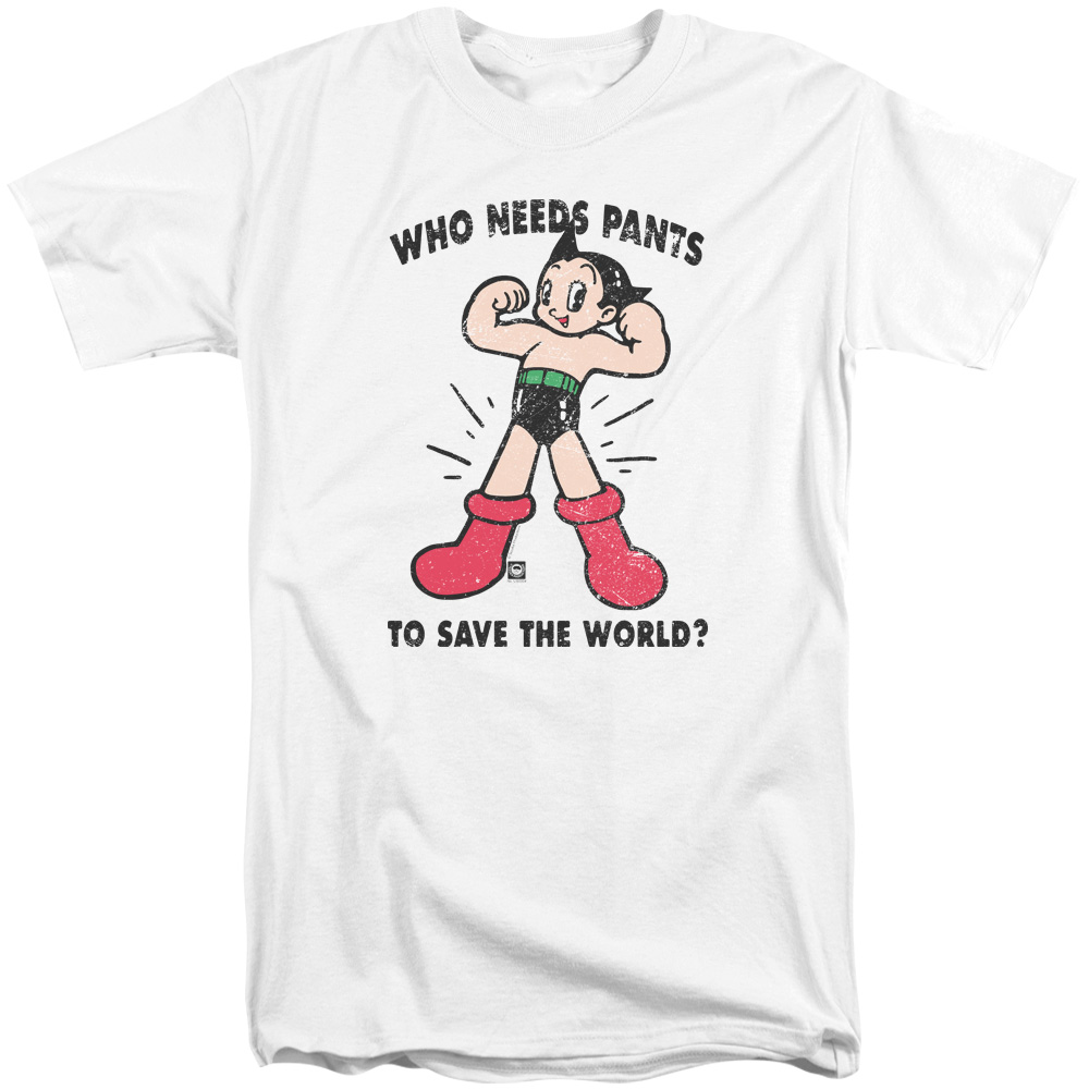 Astro Boy Who Needs Parts Mens Big and Tall Shirt