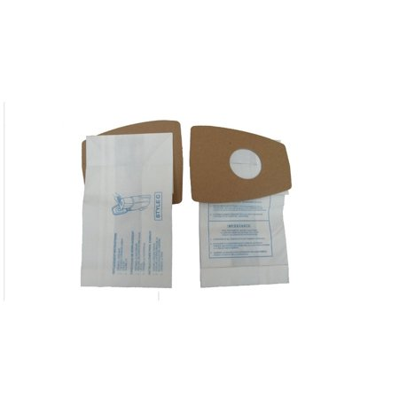 Style Ls Filteraire Vacuum Bags (3 Eureka Style C Premium American Made Mighty Mite Canister Vacuum Bags, 3pk. Fits Eureka Type C Part 52318, 52318-12, 57697-12 Filteraire, 54921-10,)
