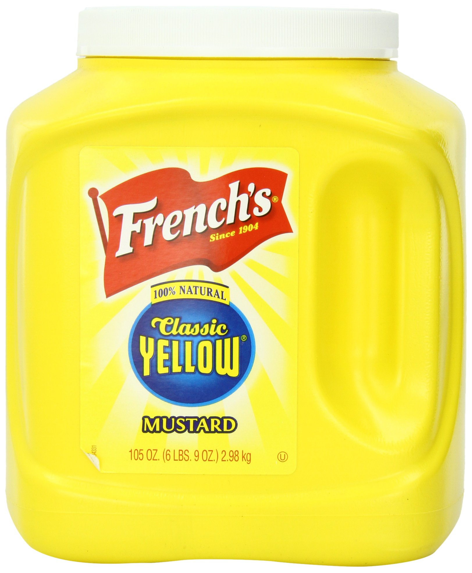 French's Classic Yellow Mustard, 105.0 OZ by The French's Food Company LLC