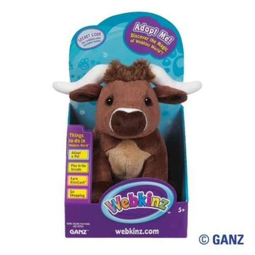 Webkinz Longhorn Steer in Box