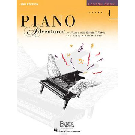 Level 4 - Lesson Book : Piano Adventures