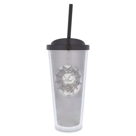 Everyday Is Halloween Tumblr (Disney Parks Jack Skellington Double Wall Tumbler with Straw Jack is Back)