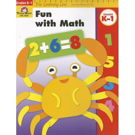 Learning Line: Fun with Math, Grades K-1 (Paperback) - Learn Maths Book