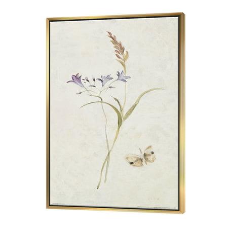Wild Simple Wallflowers I - Farmhouse Framed Canvas - image 3 of 3
