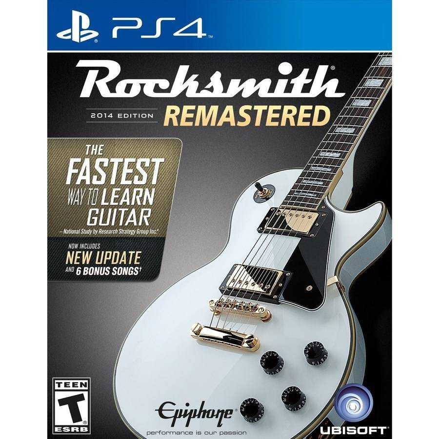 Rocksmith 2014 Remastered (Playstation 4) by Ubisoft Entertainment SA