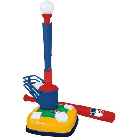 Franklin Sports MLB Super Star Batter 2-in-1 Teeball Set (T Ball Balls)