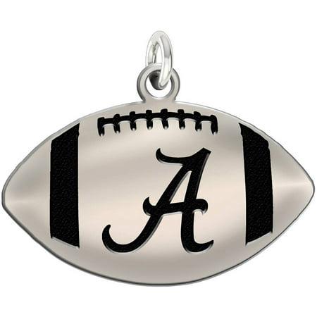 Ncaa Alabama Crimson Tide Sterling Silver Football Charm