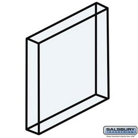 Plexiglass Window for Aluminum Mailbox Door - 0.875 x 1.25 x 0.25 in.