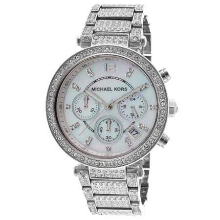 Michael Kors Womens Watch Silver MK5572